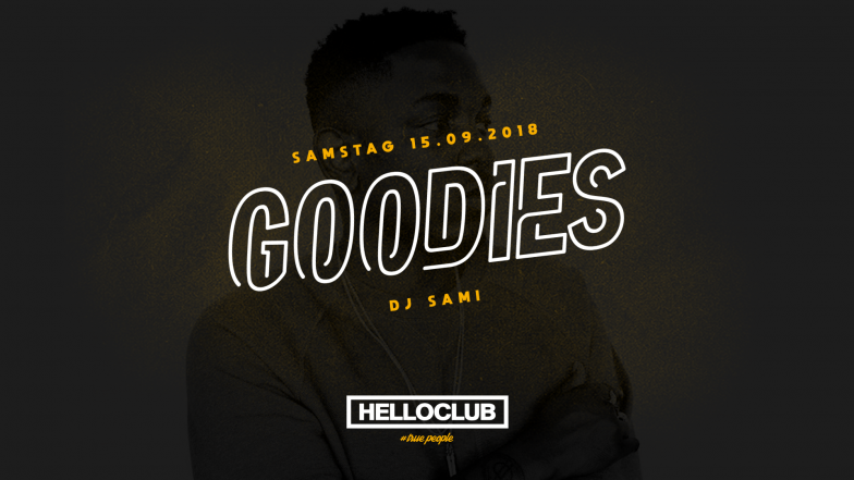 SAMSTAG 15.09.2018 - GOODIES