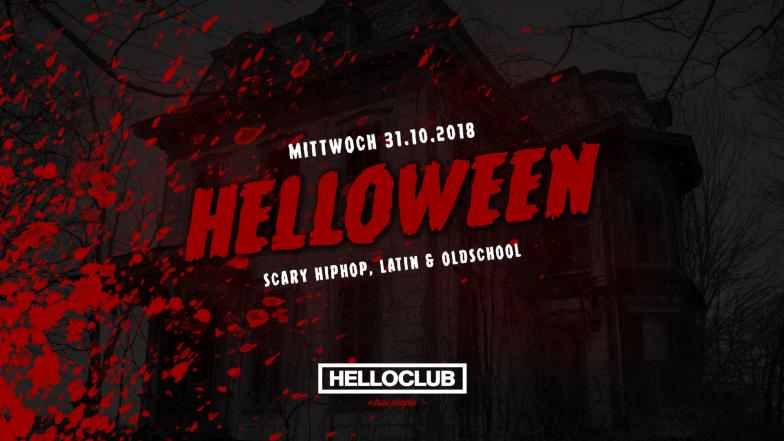 MITTWOCH 31.10.2018 - HELLOWEEN