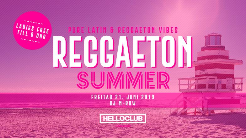 FREITAG 21.06.2019 - REGGAETON SUMMER