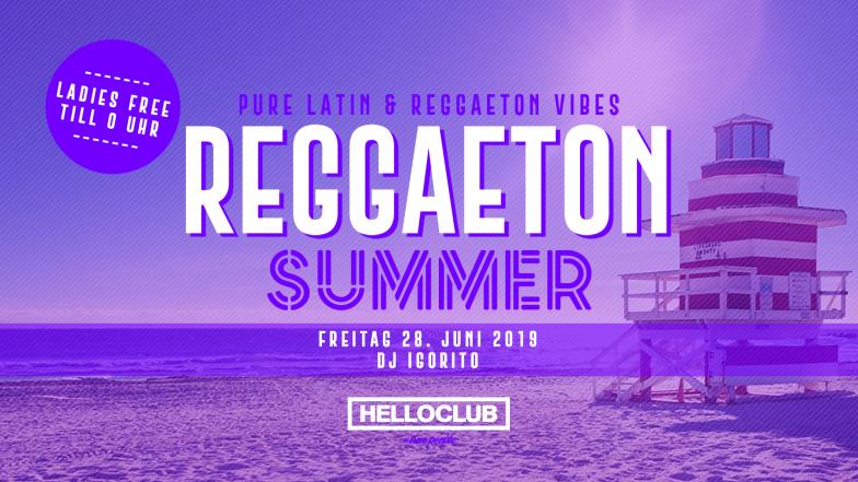 FREITAG 28.06.2019 - REGGAETON SUMMER