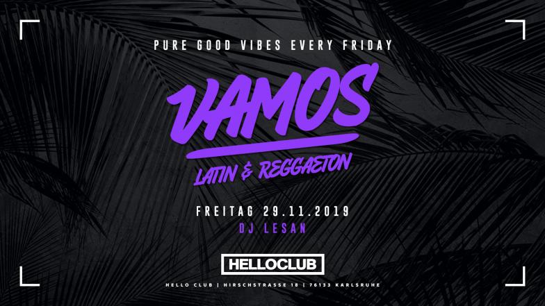 FREITAG 29.11.2019 - VAMOS