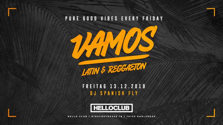 FREITAG 13.12.2019 - VAMOS