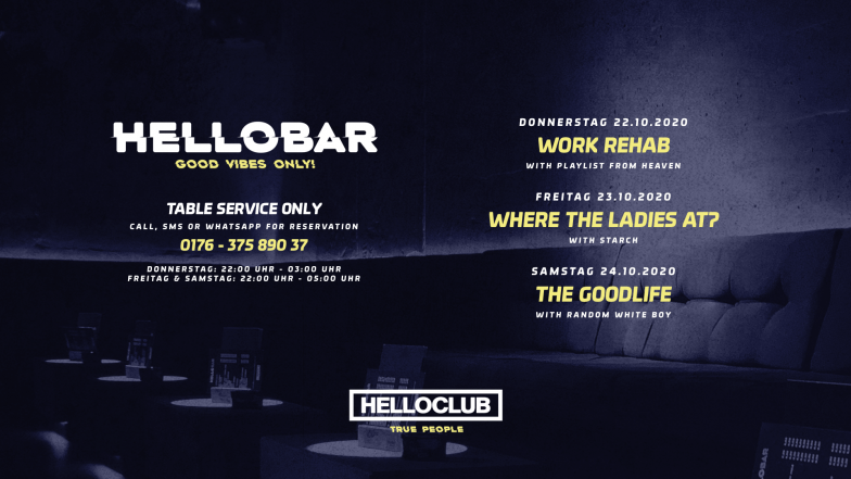 THIS WEEK - HELLO BAR