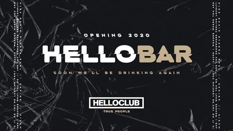 HELLO BAR - COMING SOON!